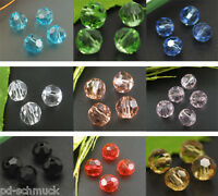 Wholesale 100 Faceted Czech Glass Beads Beads 6mm Pretty DIY Jewelry.