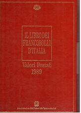ITALIA 1989 - BUCA delle LETTERE - LIBRO DEI FRANCOBOLLI -Completo + custodia