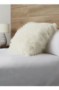 Cozee Home Extra Large Fluffy Cushion Lvory 60 X 60cm