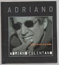ADRIANO CELENTANO IO NON SO PARLAR D'AMORE CD BOOK