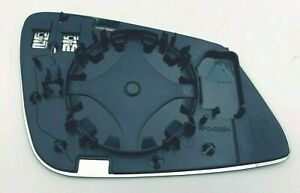 #120 LEFT DRIVER SIDE MIRROR GLASS LENS WITH BACKING FITS BMW 3 series 2013-2018
