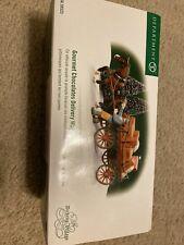 Dept 56 Heritage Village Dickens Village Gourmet Chocolate delivery Wagon