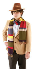 DR WHO LICENSED FOURTH 4TH DOCTOR 12' DELUXE STRIPED SCARF COSTUME TOM BAKER new