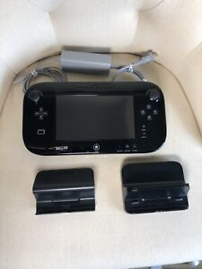 Nintendo WII U Gamepad, Stylus, Charger, Charging Stand WUP-010 (USA) NO CONSOLE
