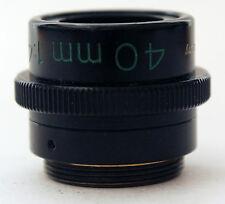 Carl Zeiss 40mm 1:4.5 Luminar Macro Lenses Germany Microscope Objectives f4.5