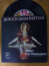 45 GIRI QUEEN SAMANTHA - SWEET SAN FRANCISCO/WHAT'S IN YOUR MIND - OUT 1979 VG+