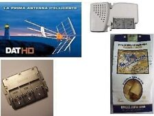 KIT TELEVES ANTENNA DIGITALE TERRESTRE DAT HD 1495 ALIMENTAT. 5796 DIVISORE 5436