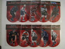 1997-98 Donruss RED ALERT COMPLETE INSERT SET OF 10 NUMBERED TO 5000...!!!