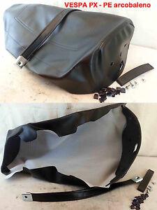 Housse Couverture Pour Selle Vespa 125 Px Pe Arc En 125-150-200 - Couleur:Noir