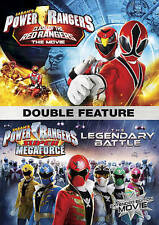 Power Rangers: Clash Of The Red Rangers / The Legendary Battle  [DVD], New DVDs
