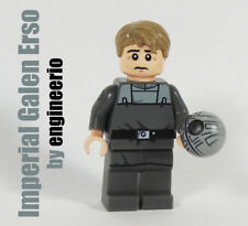 LEGO custom Imperial Galen Erso star wars mini figure Rogue One jyn death star