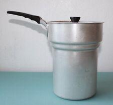 Pot à lait casserole manche noir en bakélite 18 cm