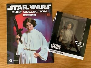 Star Wars Bust Collection: #11 Princess Leia, New, Fanhome, Deagostini