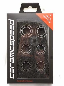 CeramicSpeed Wheel Bearing Upgrade Kit Zipp 7 Front and Rear