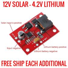 12V SOLAR TO 3.7V 4.2V LITHIUM BATTERY 18650 3A CONVERTER MPPT CHARGE CONTROLLER