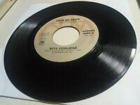 "1978 Rita Coolidge: Love Me Again/Jealous Kind, EX 45RPM 7"" vinyl record Country"