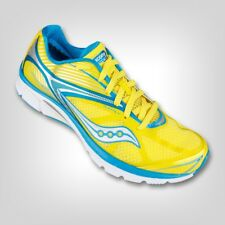 New! Saucony Women's ProGrid Kinvara 4 Trail Shoe in Yellow Size: 8 in box