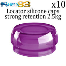 10x Rhein 83 Dental Implant Locator Silicone Flat Strong Retention Caps