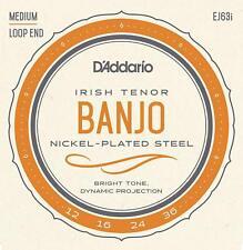 EJ63i Irish Tenor Banjo, Nickel, 12-36