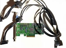 IBM Thinkstation S20 3G SAS Card, 46R3460 53Y7335 PCI-E +   2X CABLE 41N8299
