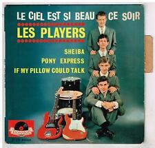 Les PLAYERS     Le ciel est si beau ce soir   avec languette  7'  EP 45 tours