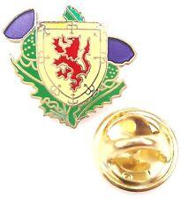 Écosse LION LION D'or et Chardons émail insigne de goupille de revers T489
