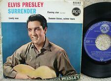 Elvis Presley - Surrender - France Compact E.P + PS -  86303