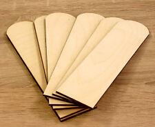 10 Stk Lesezeichen aus Holz Bookmark Decoupage Basteln
