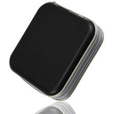 Black 40 Disc Disk CD/DVD Case Sleeve Plastic Bag Portable Wallet Holder Storage