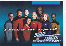 1992 Star Trek The Next Generation #1D Where No One Has... - French * Impel *