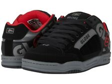 Mens Globe Tilt Skateboarding Shoes Nib Black Carbon Red