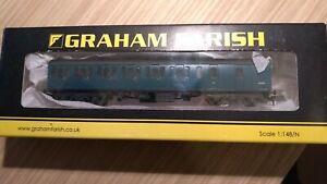 Farish by Bachmann N gauge Suburban Brake End coach BR Blue weathered 374-313