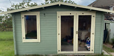 More details for summer house shed log cabin 4.1m x 2.5m x 2.5m external.