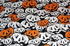NEW ~ Halloween Print Scrub Top ~ 4X ~ Jack O' Lantern