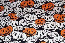 NEW ~ Halloween Print Scrub Top ~ 6X ~ Jack O' Lantern