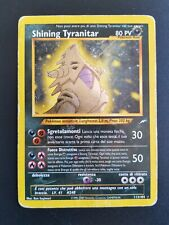 Pokemon Shining Tyranitar ITA Holo Neo Destiny Secret Rare 113/105 + meganium