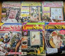 Lot of 6 Cross Stitch & Country Crafts-Needle Magazines Complete 1998