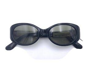 Guess Sunglasses GU5052 103302-3 Black Silver Grey Lenses VINTAGE NOS