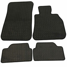Rubber BMW 1 Series Tailored Car Mats 2008 onwards - Black