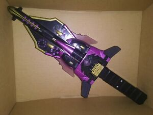Hasbro Transformers Armada Dark Star Saber Role Play Sword Lights & Sounds Works