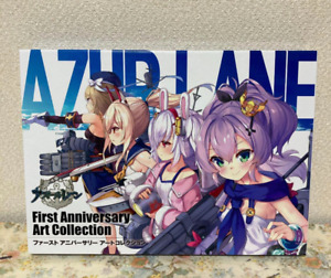 Azur Lane First Anniversary Art Collection Book Illustrations Square Enix Japan