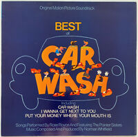 THE BEST OF CAR WASH OST LP ROSE ROYCE MCA UK 1976 PRO CLEANED