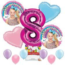 Jojo Siwa Party Supplies Balloon Decoration Bundle for 8th Birthday