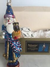 Kurt Adler Polonaise Merlin The Magician Ap1194 Glass Ornament ~Nib