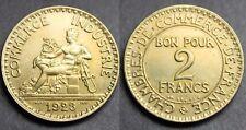 2 Francs CHAMBRES DE COMMERCE SUP