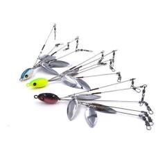 5 Arm 4 Blades Alabama Umbrella Rig  Fishing Bass Lures Bait Kit Random