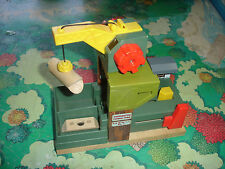 Thomas the Train & Friends Wooden Railway Complete Sawmill Log Splitter Set!!