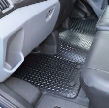 Ford Transit MK8 LWB Tipper Heavy Duty Rubber Front Floor Mat Protector 2013+