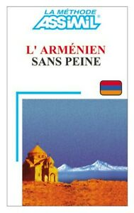 L' Armenien sans peine 1999 Extremly Rare language book french ASSIMIL very good