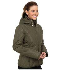 $260 NWT OBERMEYER OBSESSION INSULATED SKI JACKET COAT STONE GREEN WOMENS 10